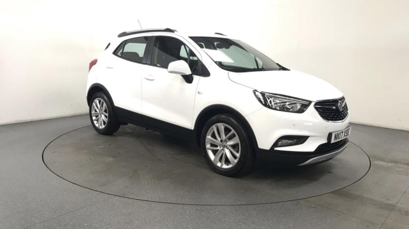 White Vaxuhall Mokka X SUV