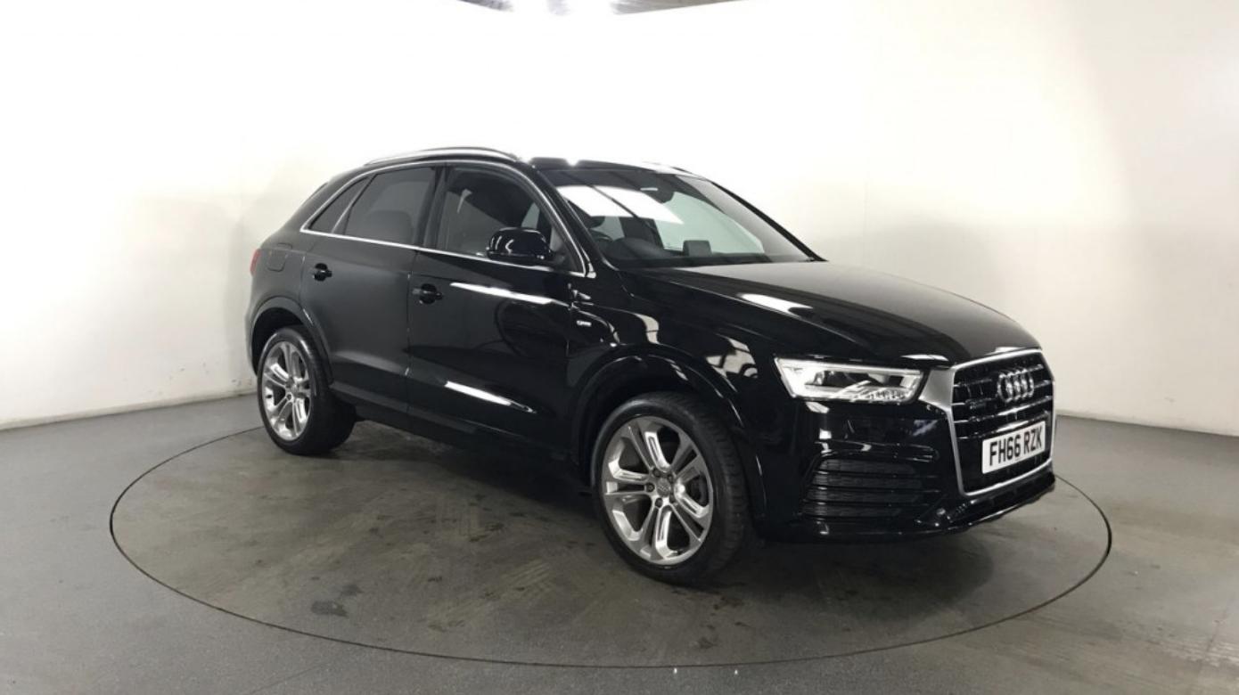 Black Audi Q3 Car