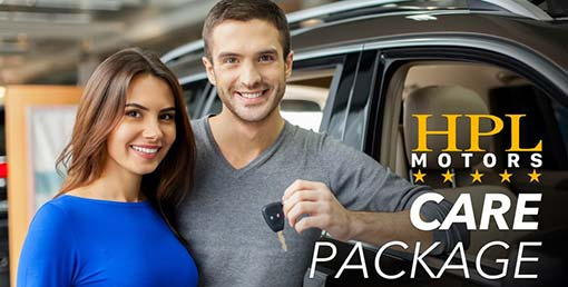 HPL Motors Care Package, with Vehicle Inspection, Breakdown Cover, MOT, Service, HPI Check, Valet and Reward Vouchers